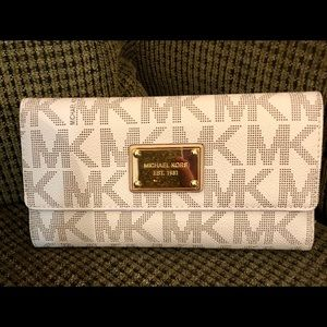 Michael Kors checkbook wallet